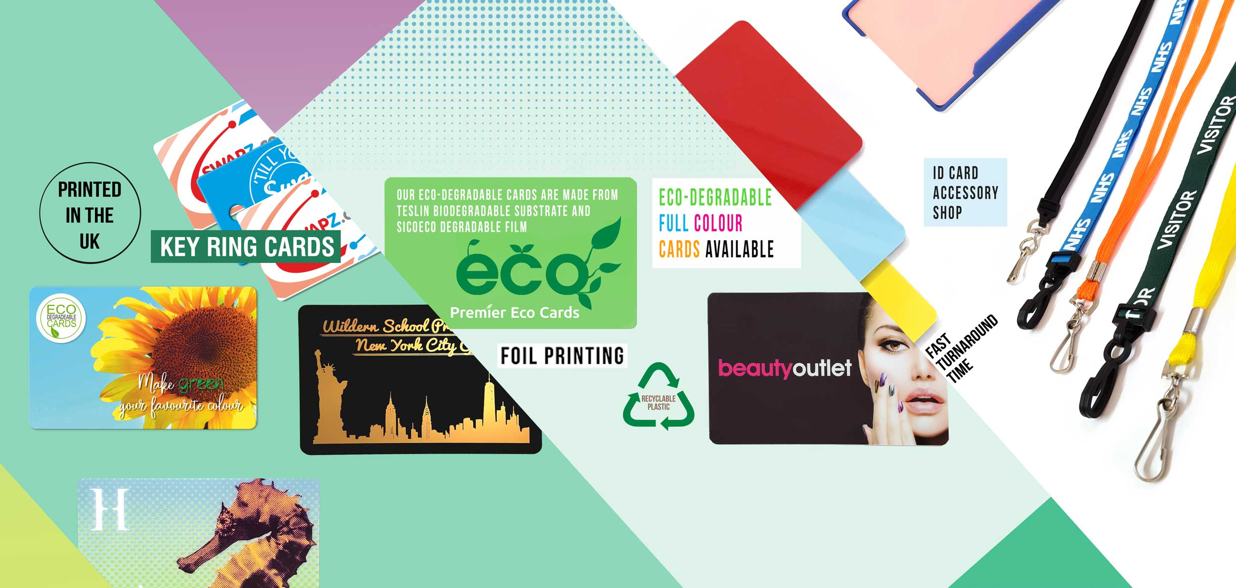 Premier Eco Cards Ltd are a plastic card printers with 20 years experience.