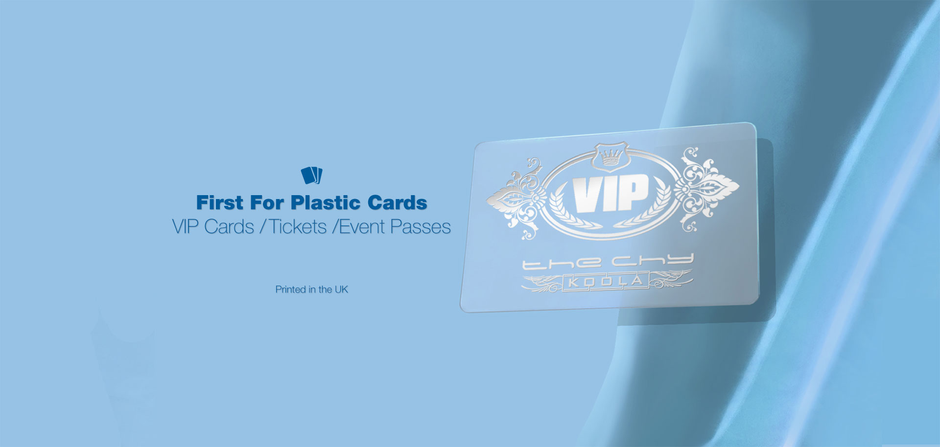 Frosted Clear Plastic Cards - Our frosted clear plastic cards are all printed in the UK. Easy ordering and Fast turnaround.