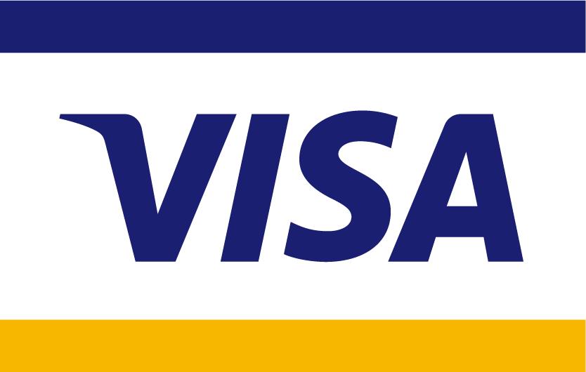 Premier Plastic Cards accept Visa
