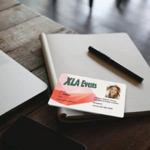 Plastic staff ID cards by Premier Eco Cards