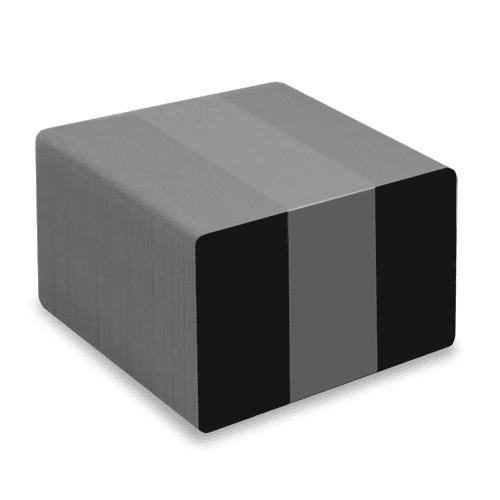 Blank Matt Black Plastic Cards