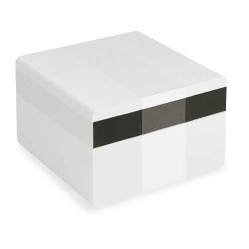 Blank LoCo White Plastic Cards