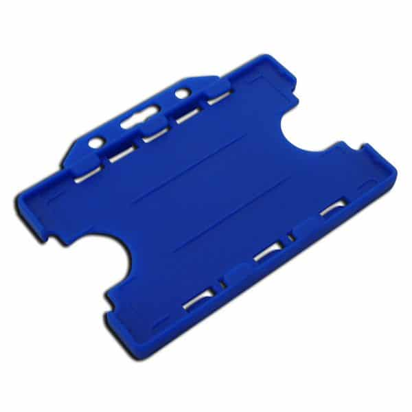 Blue Double Sided Card Holders