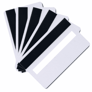 Blank HiCo White Plastic Cards With Signature Panel