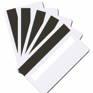 Blank LoCo White Plastic Cards With Signature Panel