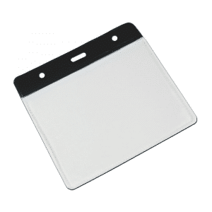 Black Vinyl Card Holders