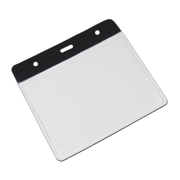 Black Vinyl Card Holders