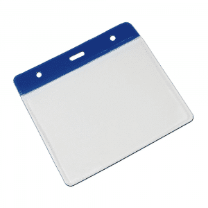 Blue Vinyl Card Holders