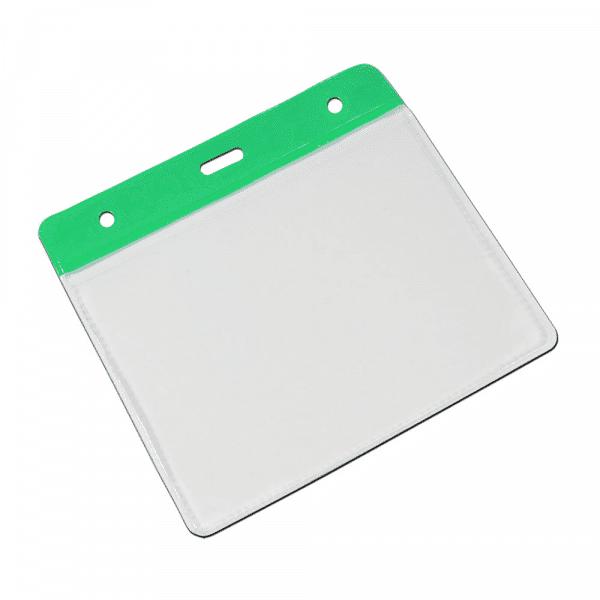 Green Vinyl Card Holders