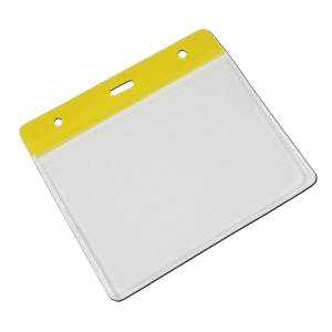 Yellow Vinyl Card Holders