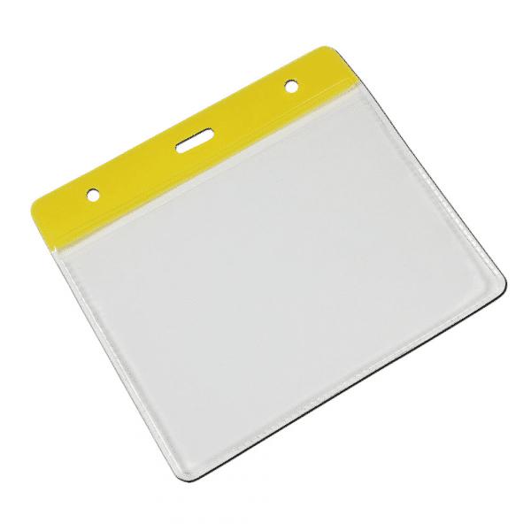Yellow Vinyl Card Holders