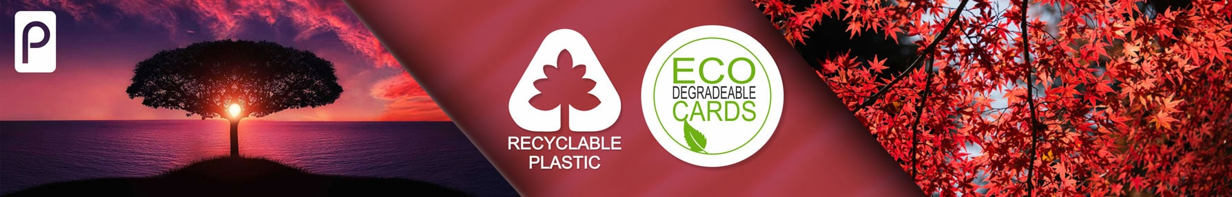 Discount cards from Premier Plastic Cards eco friendly recyclable and degradable