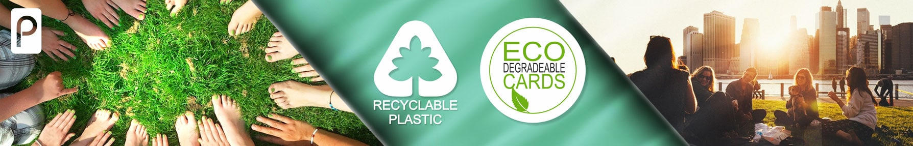 Plastic membership cards eco friendly and recyclable from Premier Plastic Cards
