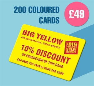 200 Colour cards for £49