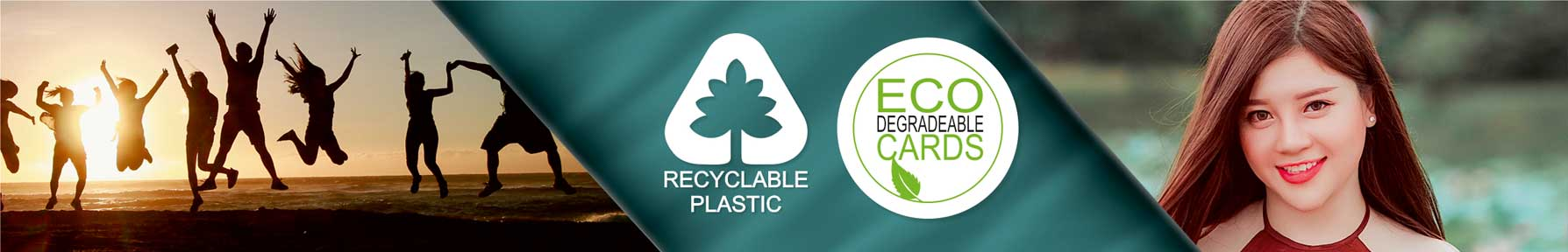 ID Cards from Premier Eco Cards Recyclable and degradable eco friendly