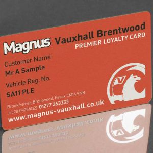 Personalised Plastic Cards from Premier Eco Cards